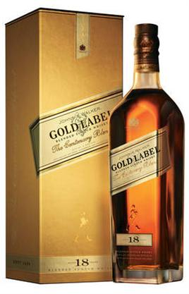 Johnnie Walker Scotch Gold Label 18 Year